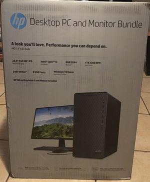 HP Desktop PC and Monitor Bundel for Sale in Los Angeles, CA