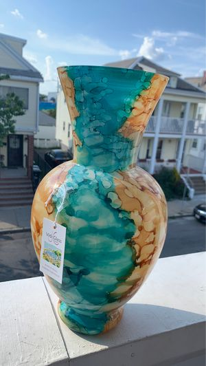 Glass Vase (Made in Italy) for Sale in Somerville, MA