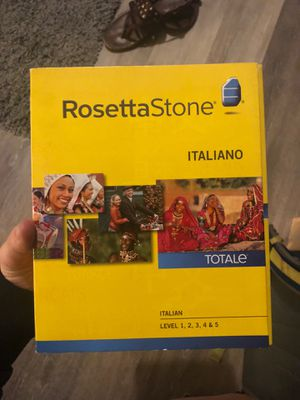 Rosetta Stone- Italian for Sale in Lexington, KY