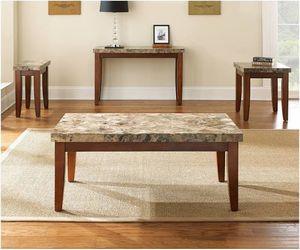 Bob's furniture Montebello marble living room set for Sale in Boston, MA