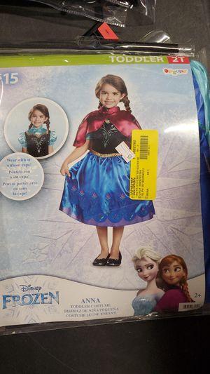Disney Frozen Anna toddler costume 2T for Sale in Riverside, CA