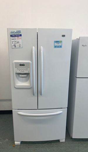 White Maytag French Door Refrigerator. #87 for Sale in Littleton, CO