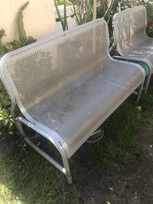 2 metal benches for Sale in Villa Park, CA