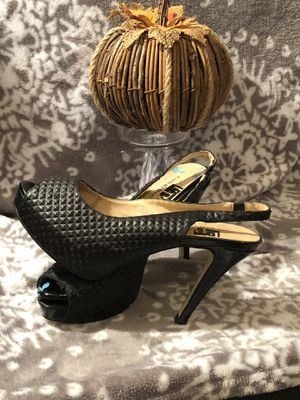 Size 8 black heels for Sale in Round Rock, TX