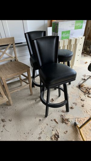 Black bar stools for Sale in NJ, US