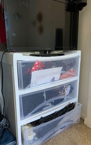 3 drawer plastic storage shelves for Sale in Carlsbad, CA