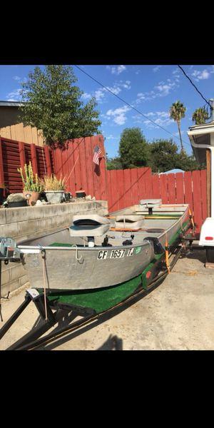 Aluminum boat for Sale in Spring Valley, CA