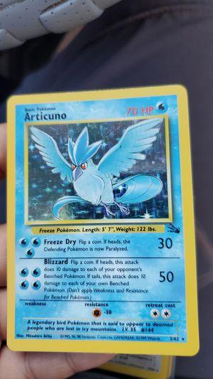 Pokemon Cards Fossil Articuno for Sale in Santa Ana, CA