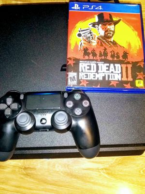 PS4 1tb with Red Dead Redemption for Sale in Hayward, CA