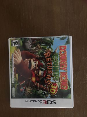 Nintendo 3ds donkey Kong returns 3d for Sale in Visalia, CA