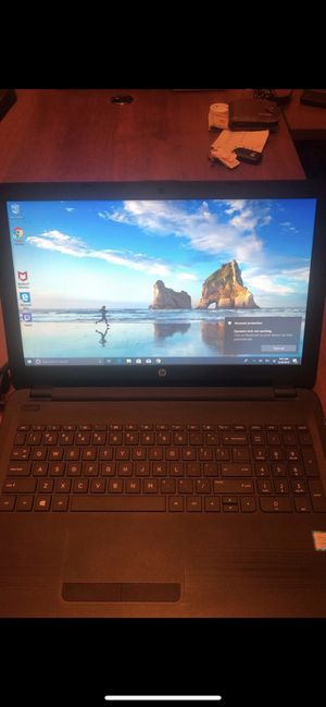 HP 15.6inch TouchScreen Laptop i5 7th Gen for Sale in Corona, CA