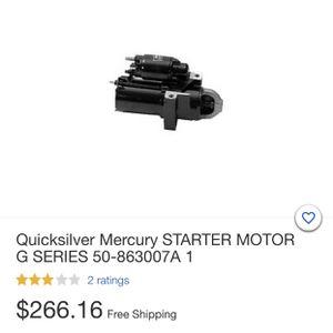 Starter motor (Marine) NEW for Sale in St. Cloud, FL
