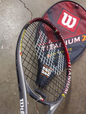 Wilson tennis racket and case for Sale in Kenmore, WA