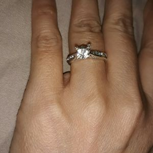 925 Sterling Silver Engagement Ring, Size 8. for Sale in Dallas, TX