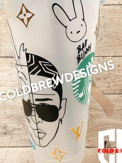 Starbucks cup Bad Bunny for Sale in Yorba Linda,  CA