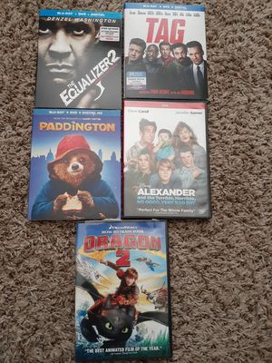 DVD Blu-ray movies 2 unopened for Sale in Tacoma, WA