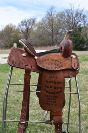 "13"" Corriente Barrel Saddle (kid/small adult) for"