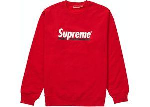Supreme Underline Crewneck Red for Sale in Shreveport, LA