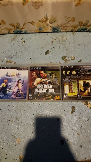 3 ps3 games for sell for Sale in Wenatchee, WA