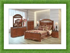 11 piece Ashley Bedroom Set with mattress FREE SHIPPING!!! for Sale in Manassas, VA