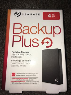 Portable storage 4tb for Sale in Lompoc, CA