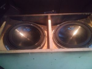 2 12 Alpine speakers for Sale in Gladewater, TX