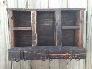 Home Decor Rustic Wood Entry Organizer - 2 to choose from for Sale in Wichita, KS