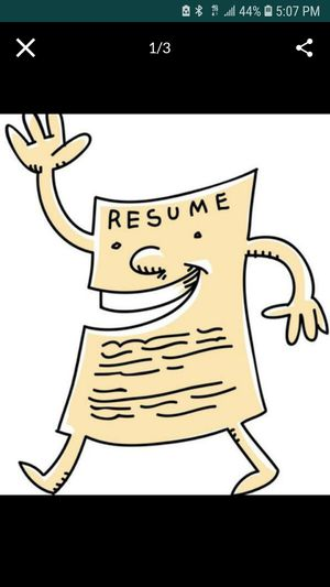 Need a RESUME for jobs? I can help! for Sale in Riverside, CA