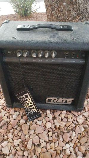 Crate Gx15 amplifier for Sale in Las Vegas, NV