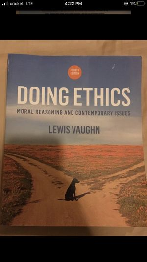 Doing Ethics College Textbook for Sale in Oswego, IL