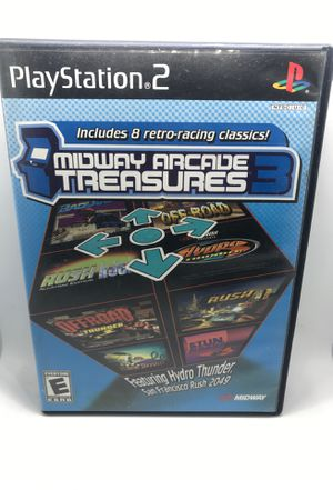 Midway Arcade Treasures 3 Sony PlayStation 2 for Sale in Riverside, CA