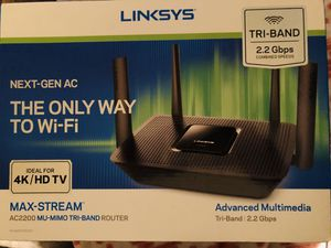 Linksys Tri-Band Router for Sale in Phoenix, AZ