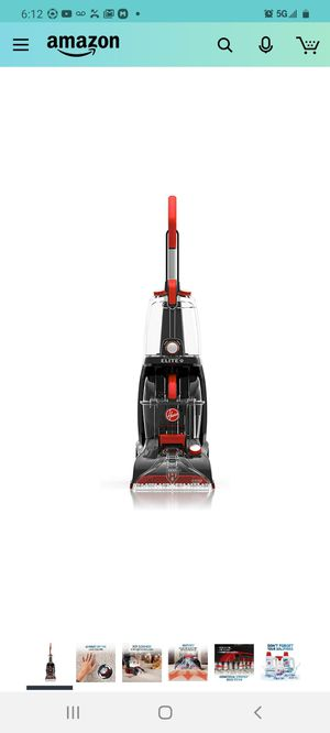 Hoover FH50251PC Power Scrub Elite Pet Upright Carpet Cleaner and Shampooer, Lightweight Machine, Red for Sale in City of Industry, CA