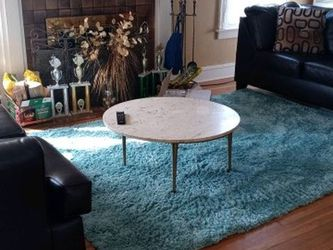 Brown Sectional And Marble Coffee Table for Sale in Cleveland,  OH