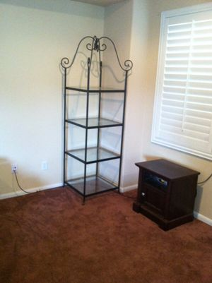 Wrought iron shelves for Sale in Temecula, CA