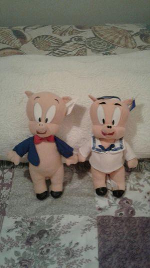 Porky the pig stuffed animals for Sale in Warren, MI