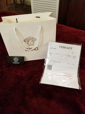 Versace bag and receipt and tag. for Sale in Conroe, TX