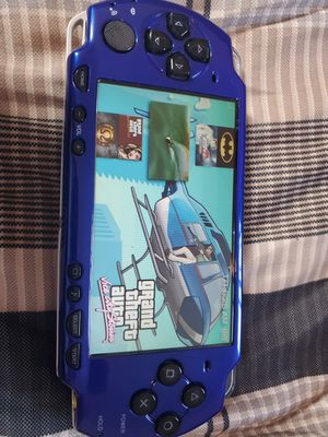 LIKE NEW !! BLUE/BLACK * PSP * WITH 5,000 GAMES !! for Sale in Santa Ana, CA
