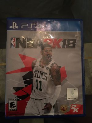 NBA 2k18 PS4 for Sale in Lithonia, GA