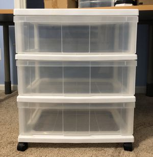 Clear Storage Drawers for Sale in Clifton, VA
