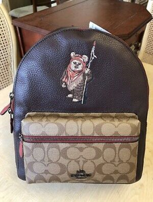 Authentic Coach X Ewok Star Wars Limited Edition Backpack (New with Tags) for Sale in Surprise, AZ