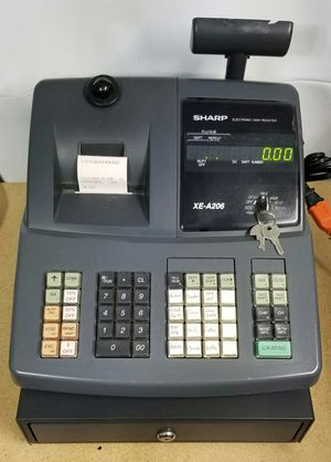 Cash Register, Sharp XE-A206 for Sale in Tacoma, WA