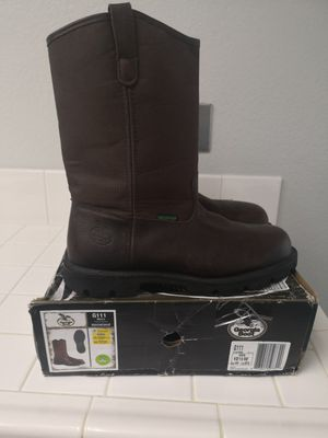 Georgia steel toe work boots size 10.5 EE for Sale in Riverside, CA