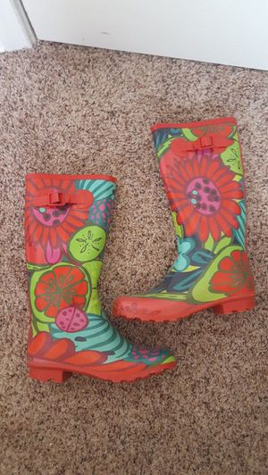 Stylish rain boots for Sale in Denver, CO