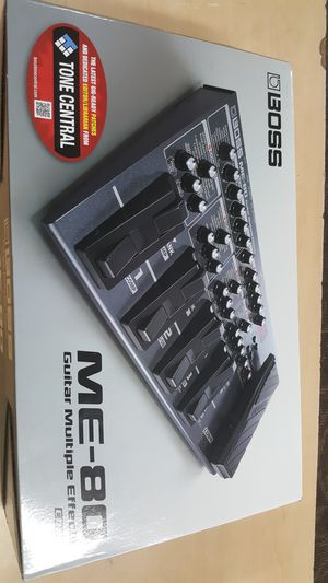 Boss ME-80 Multi-Effects Guitar Effect Pedal for Sale in Baltimore, MD