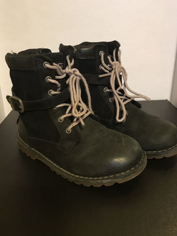 UGG Kids Weatherproof Boots Size 10