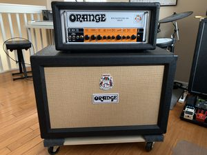 Orange Rockerverb 100 MKIII and PPC212 2x12 Guitar Amp Cab Cabinet for Sale in Tamarac, FL