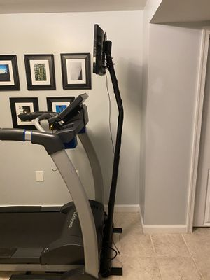 Samsung TV and stand for Treadmill/Elliptical/Stationary Bike for Sale in Alexandria, VA