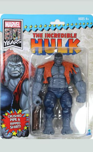 Marvel Legends 9 Inch Grey Hulk Collectible Action Figure Toy for Sale in Chicago, IL