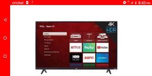 43in tcl 4k Roku tv for Sale in Glendale, AZ